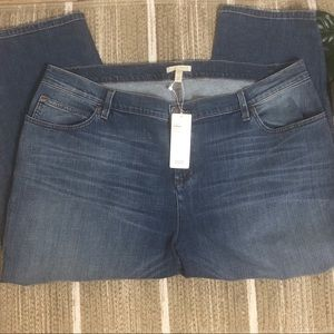 NWT Eileen Fisher crop tapered Jean Size 18W